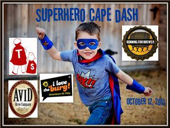 The Amazing Pub Crawl: Superhero Cape Dash