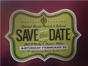 Sacred Heart Parish & School Gala & Auction