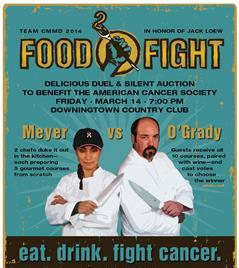 Second Annual Meyer vs. O'Grady Food Fight