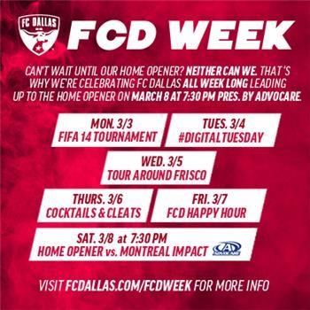 FC Dallas FIFA 14 Tournament Registration